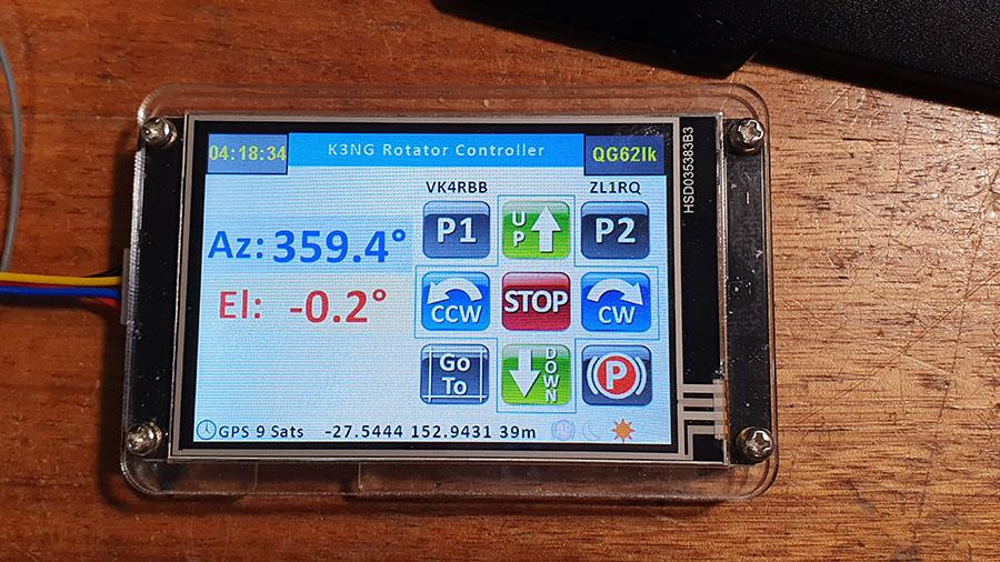 Vk4ghz K3ng Rotator Controller System  U2013 Vk4ghz Com