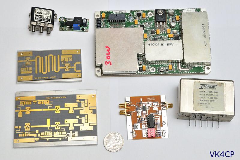 VK4GHZ com | VK3XDK 2 4 GHz transverter project